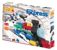 Конструктор LaQ Express - Поезд Экспресс (+27 схем сборки)