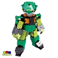Конструктор LaQ JADE - Робот Джейд