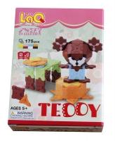 Конструктор LaQ Teddy - Медвежонок Тедди
